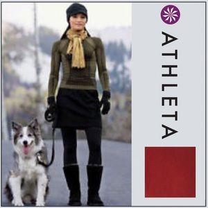 ATHLETA Thermal Fleece TECH STRETCH Mini Skirt